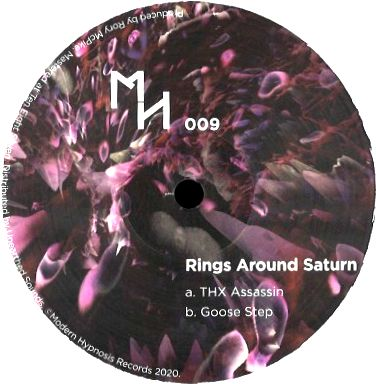 RINGS AROUND SATURN - THX Assassin / Goose Step : 12inch