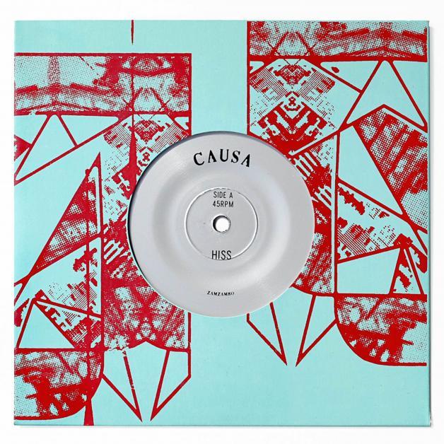 CAUSA - Hiss / Palms : 7inch