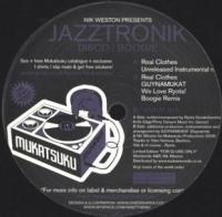 JAZZTRONIK - NIK WESTON Presents Disco : Boogie : 12inch