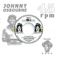 JOHNNY OSBOURNE / ROOTS RADICS - Ice Cream Love / Extra Time One : 7inch