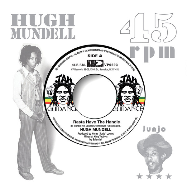 HUGH MUNDELL / ROOTS RADICS - Rasta Have The Handle / Dangerous Match Two : 7inch