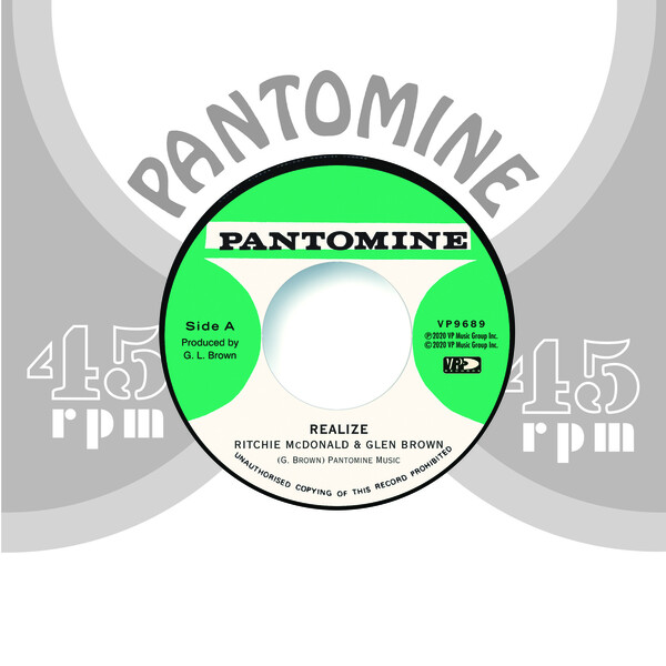 RITCHIE MCDONALD & GLEN BROWN / TOMMY MCCOOK - Realize / Determination Skank : 17 NORTH PARADE (US)