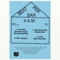 BEAT PER BAR - Beat Per Bar / 4 A.M. EP : MIXED SIGNALS (CAN)