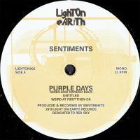SENTIMENTS - Purple Days : LIGHT ON EARTH (FRA)