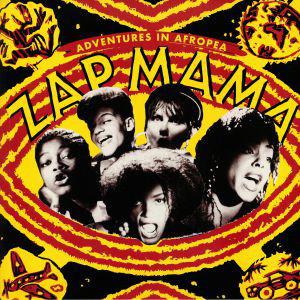ZAP MAMA - Adventures In Afropea : LP
