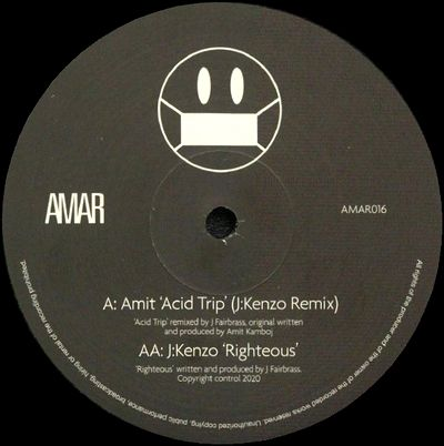 AMIT - Acid Trip(J:Kenzo Remix) / Righteous : 12inch
