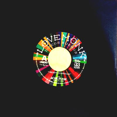 BANDA ACHILIFUNK & OJO - I Believe In Miracles Limited Edition Yellow Vinyl : 7inch