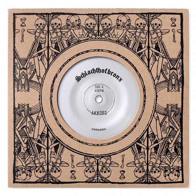 SCHLACHTHOFBRONX - Akkord / Shell ft Doubla J : 7inch