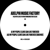 ADELPHI MUSIC FACTORY - My People (Love Can Live Forever) : 12inch