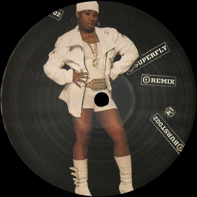 UNKNOWN ARTIST - Superfly / Unknown Artist Remix : 12inch