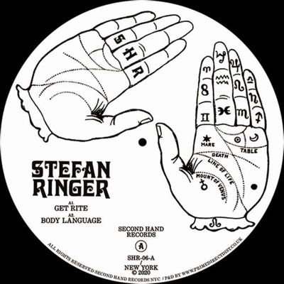 STEFAN RINGER - Side Notes : 12inch