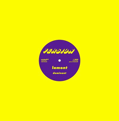 LAMONT - Dominant / I Won't Ask : 12inch