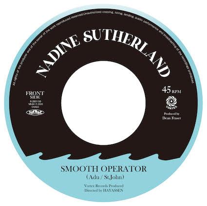 NADINE SUTHERLAND - Smooth Operator : 7inch
