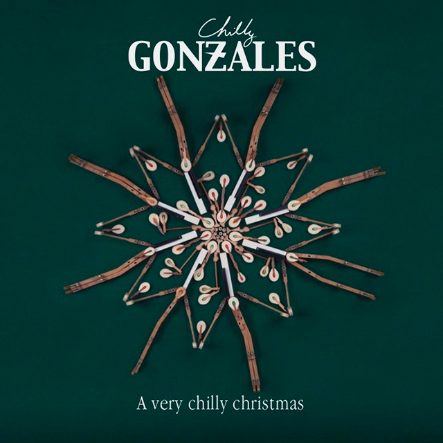 CHILLY GONZALES - A very chilly christmas : LP