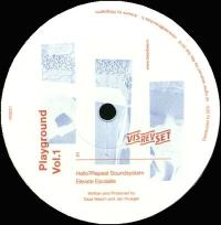 n_t0000718VARIOUS - Playground Vol.1 : VIS REV SET <wbr>(JPN)