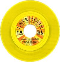 BANDA ACHILIFUNK &<wbr> OJO - I Believe In Miracles Limited Edition Yellow Vinyl : LOVEMONK <wbr>(SPA)