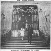 JAIME ROOS & ESTELA MAGNONE - Mujer de sal junto a un hombre vuelto carbón : LP