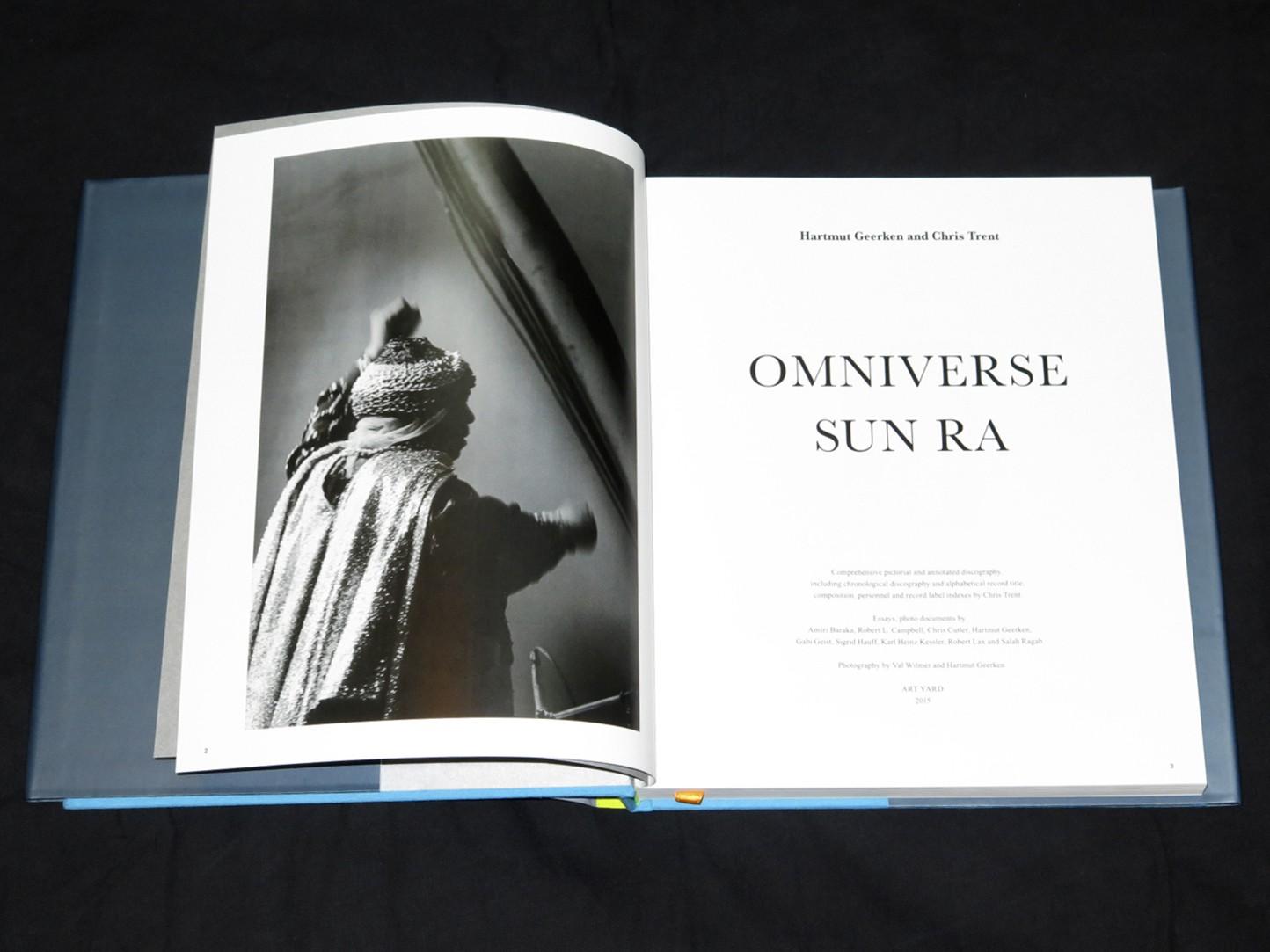 HARTMUT GEERKEN AND CHRIS TRENT - OMNIVERSE SUN RA : BOOK gallery 1