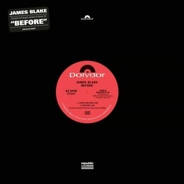 JAMES BLAKE - Before : POLYDOR (UK)