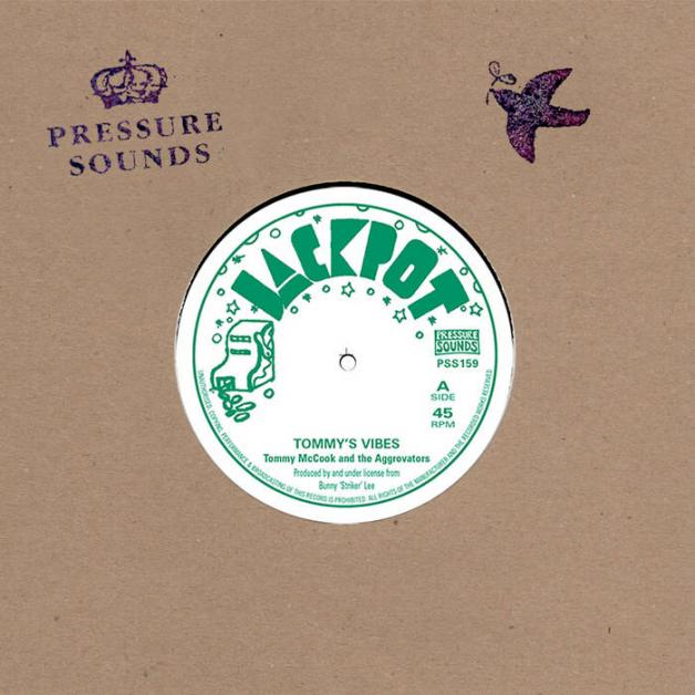 TOMMY MCCOOK & THE AGGROVATORS - Tommy's Vibes / Version : 7inch