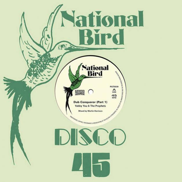 DUBFILES PAOLO BALDINI / MARTIN HARRISON - Dub Conqueror Part 1, Dub Conqueror Part 2, Dub Conqueror Part 3 : National Bird / Pressure Sounds (UK)