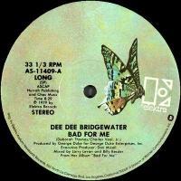 DEE DEE BRIDGEWATER - Bad For Me : 12inch