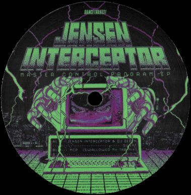 JENSEN INTERCEPTOR feat. DJ DEEON - Master Control Program EP : 12inch