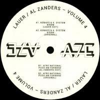 LAUER / AL ZANDERS - Africa Seven Presents A7Edits Volume 4 : 12inch
