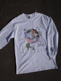 CHILL MOUNTAIN - ATARAYO Longsleeve White Size:M : CHILL MOUNTAIN (JPN)