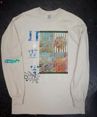 CHILL MOUNTAIN - photosynthetic pigment-光合成色素-Collage Longsleeve Sand Size:M : CHILL MOUNTAIN (JPN)