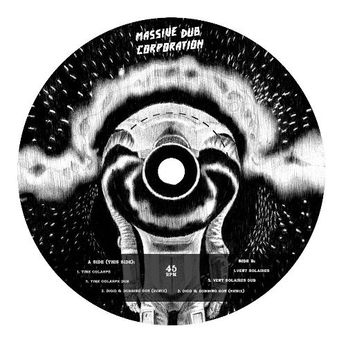 MASSIVE DUB CORP - Time Collapse / Vent Solaires (incl. Digid & Dubbing Sun Remixes) : 12inch