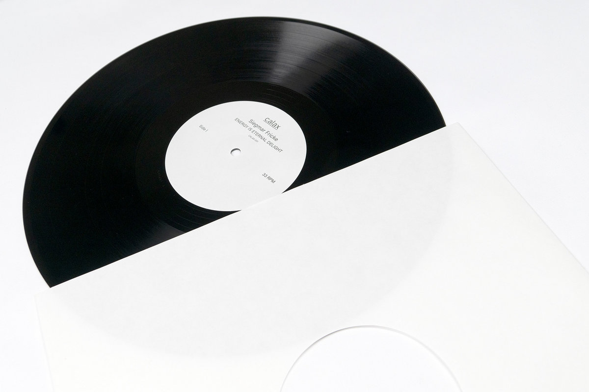 SIEGMAR FRICKE / A THUNDER ORCHESTRA - Energy Is Eternal Delight : LP gallery 1