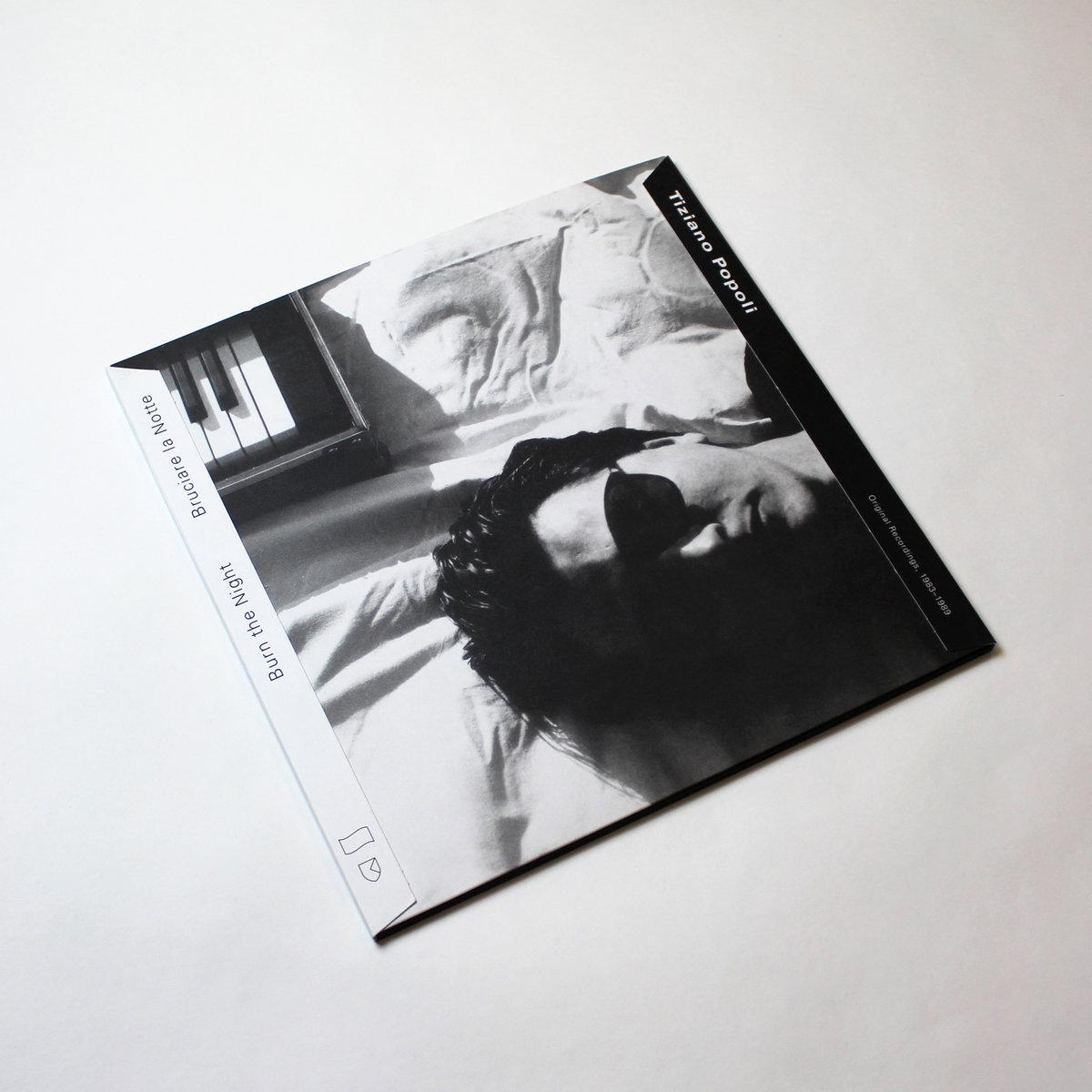 TIZIANO POPOLI - Burn the Night / Bruciare la Notte: Original Recordings, 1983–1989 : 2LP+DOWNLOAD CODE gallery 0