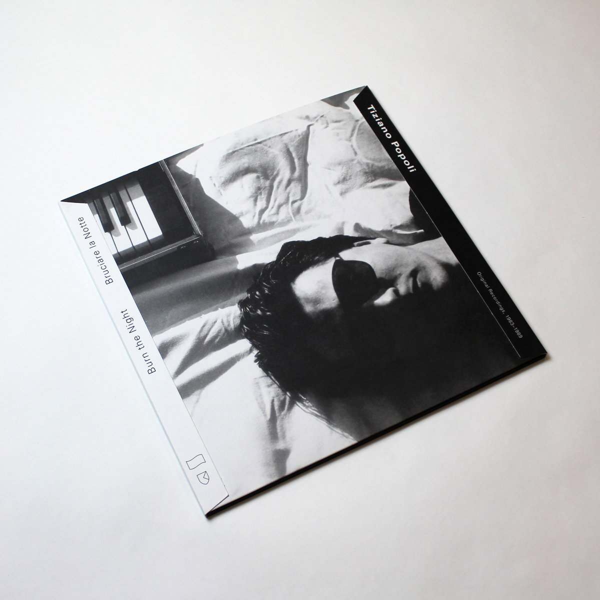 TIZIANO POPOLI - Burn the Night / Bruciare la Notte: Original Recordings, 1983–1989 : 2LP+DOWNLOAD CODE gallery 0