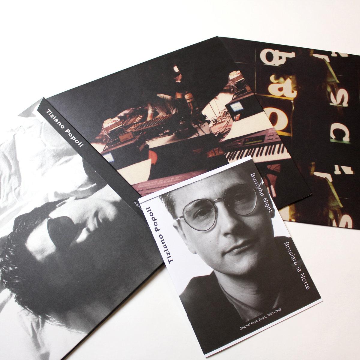 TIZIANO POPOLI - Burn the Night / Bruciare la Notte: Original Recordings, 1983–1989 : 2LP+DOWNLOAD CODE gallery 2