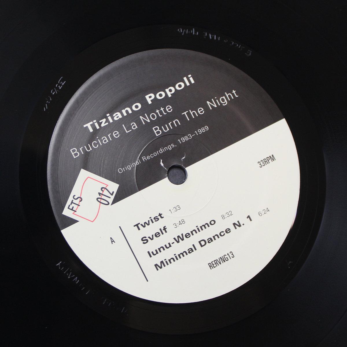 TIZIANO POPOLI - Burn the Night / Bruciare la Notte: Original Recordings, 1983–1989 : 2LP+DOWNLOAD CODE gallery 3
