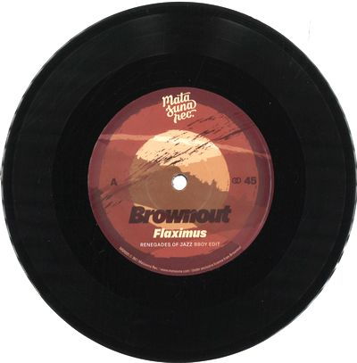 BROWNOUT & JUNGLE FIRE - Renegades Of Jazz Remixes : 7inch