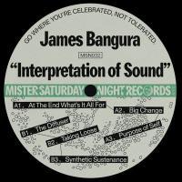 JAMES BANGURA - Interpretation of Sound : 12inch