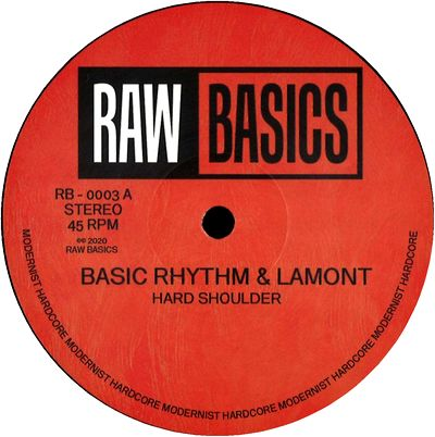 BASIC RHYTHM & LAMONT - Hard Shoulder / Spring Back : 12inch