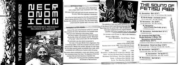 NECRONOMICON - THE SOUND OF FETISJ 1982 : CASSETTE gallery 1