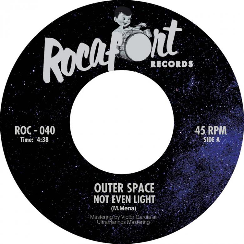 OUTER SPACE - Not Even Light / Dead Planet : 7inch