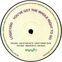 LOGIC1000 - You've Got The Whole Night To Go : BECAUSE MUSIC (FRA)