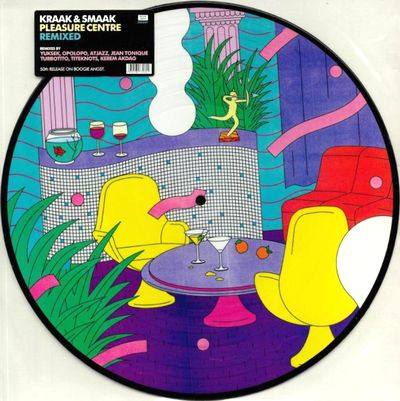 KRAAK & SMAAK - Pleasure Centre Remixed Vol.2 (Picture Disc) : BOOGIE ANGST (UK)