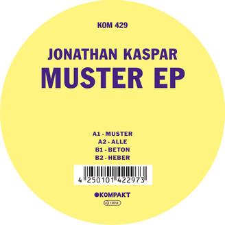 JONATHAN KASPAR - Muster EP : KOMPAKT (GER)