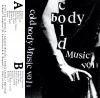 VARIOUS - Cold Body Music vol. 1 : Cassette