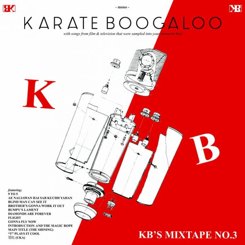 KARATE BOOGALOO - KB's Mixtape No.3 : LP