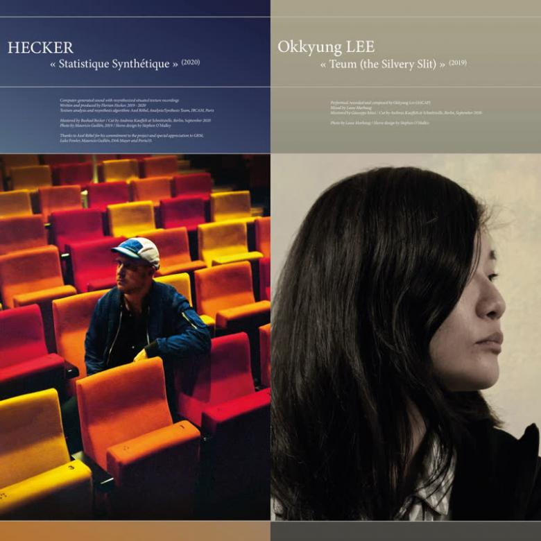HECKER & OKKYUNG LEE - Statistique Synthétique / Teum (the Silvery Slit) : LP