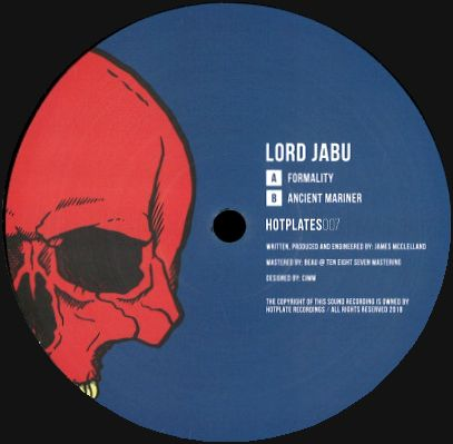 LORD JABU - Formality / Ancient Mariner : 12inch
