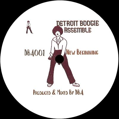 DETROIT BOOGIE ASSEMBLE - New Beginning / Living in XTC (incl. Paul Phunk Edit) : GOAT SERIES