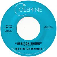 THE WINSTON BROTHERS - Winston Theme : COLEMINE RECORDS (US)